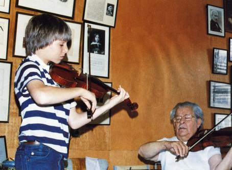 Joshua Bell on Josef Gingold