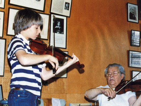 Joshua Bell on Josef Gingold