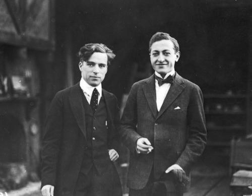 Heifetz and Chaplin