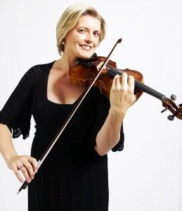 Violinist Helena Rathbone