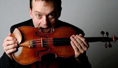 Violinist Frank Peter Zimmermann
