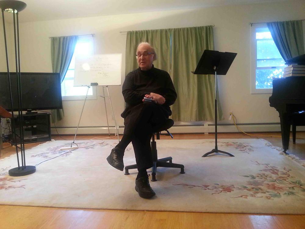 Violin pedagogue Burton Kaplan