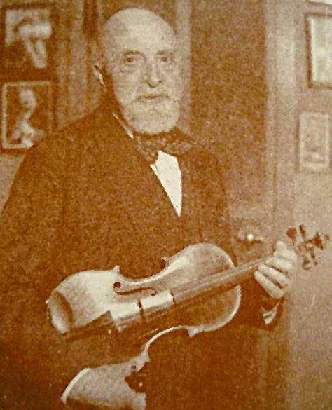 Violinist and pedagogue Leopold Auer in America c.1922