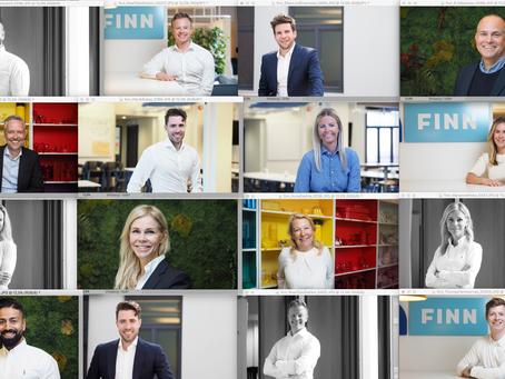 Nye portretter hos Finn