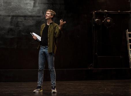 Fredrik Longva på Oslo Nye Centralteateret