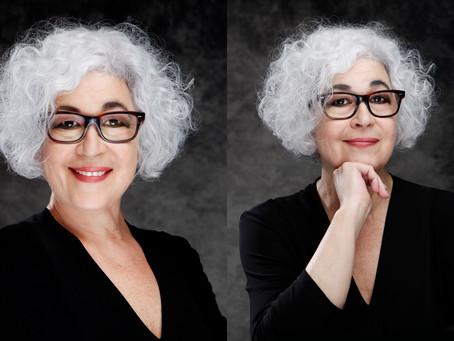 Portrettbilder av Teater Manu sin teatersjef, Mira Z
