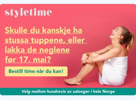 Annonsebilder for Styletime