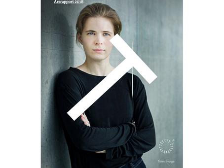 Tabita på forsiden for Talent Norge
