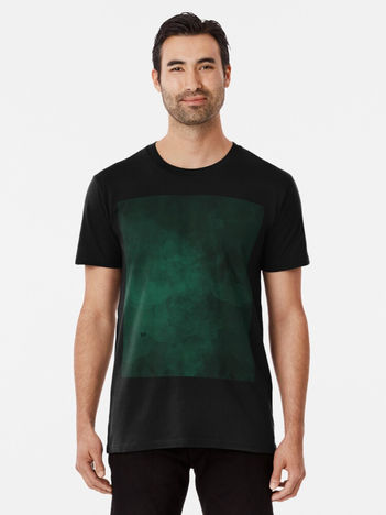 Emerald #minimal #design #kirovair #decor #buyart #green #design #elements Premium T-Shirt