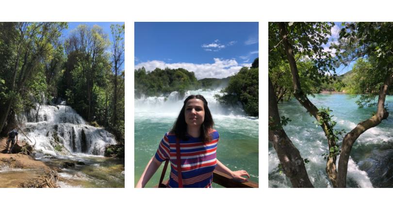 Wasserfälle Krka Nationalpark in Kroatien