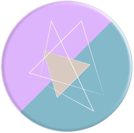 Pastel Geometric - PopSockets Grip and Stand for Phones and Tablets