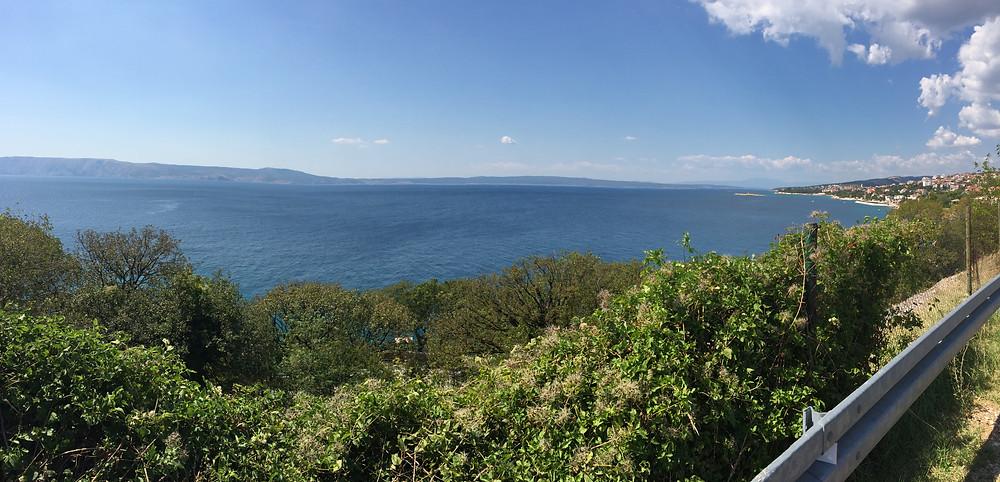Kroatien Panorama mit Blick auf die Insel Krk Fotografie Iri Kirova