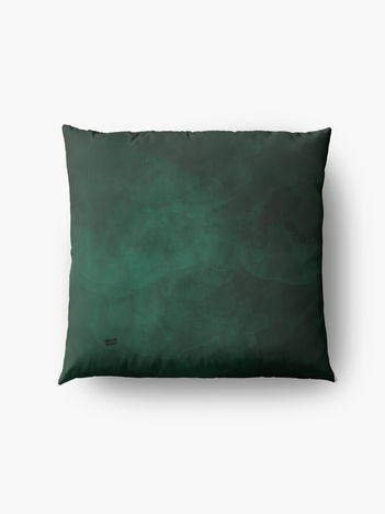 Emerald #minimal #design #kirovair #decor #buyart #green #design #elements Bodenkissen