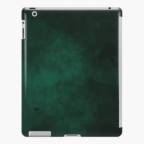 Emerald #minimal #design #kirovair #decor #buyart #green #design #elements iPad Case & Skin