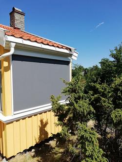 Zip screen på Engø gård
