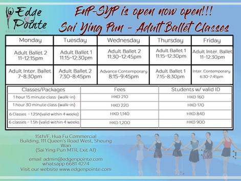 EnP Sai Ying Pun studio is NOW OPEN!