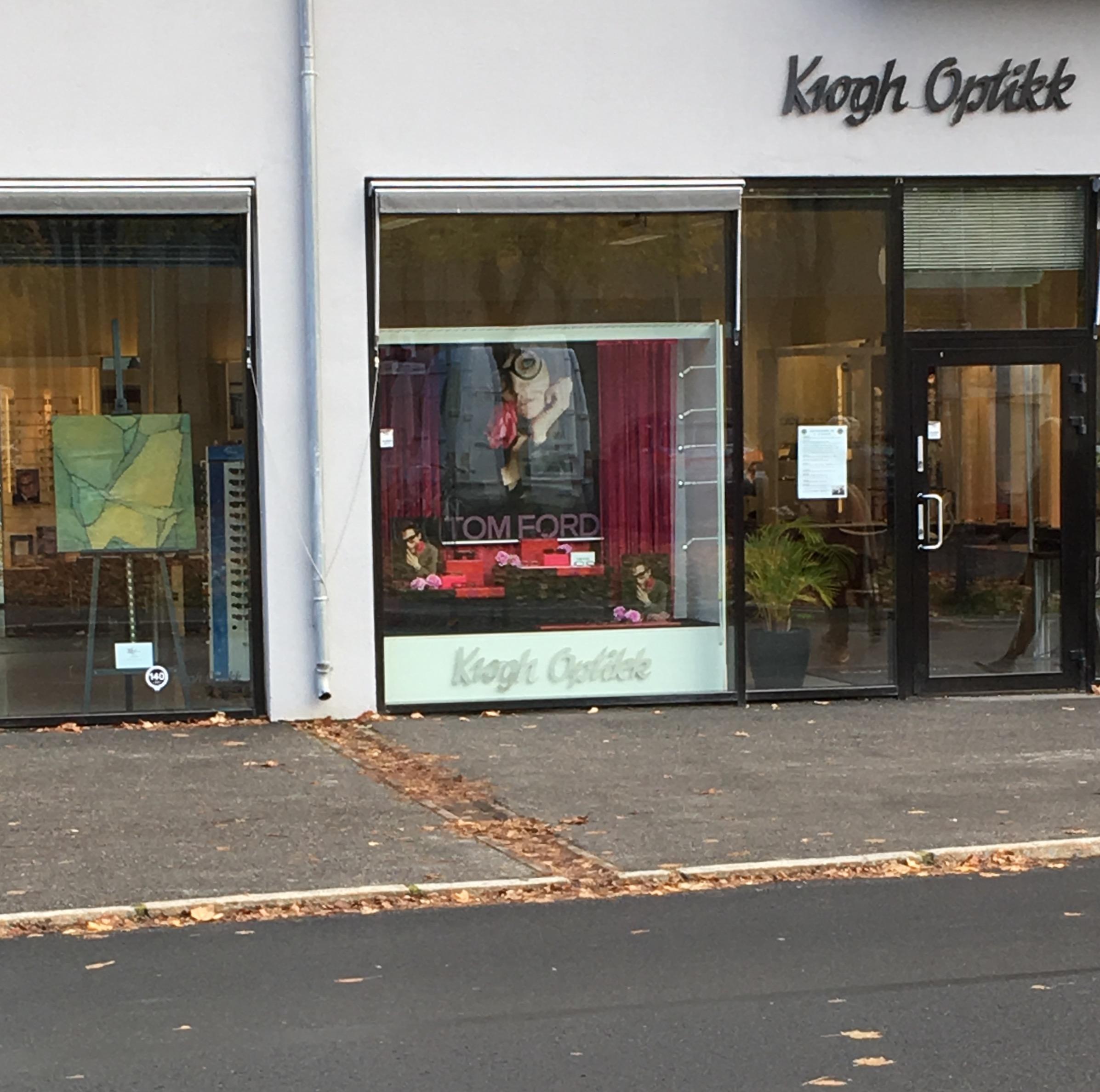 Ås Kunstforening til Krogh Optikk.