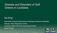 Disease and Disorders of Golf Greens.JPG