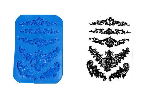REF. 038 – Apliques 1 – 12,5 x 8,5 cm