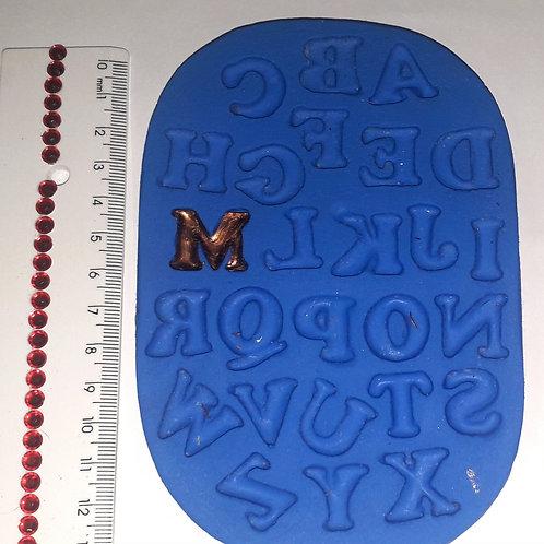 REF 079 - Molde de Silicone Alfabeto G