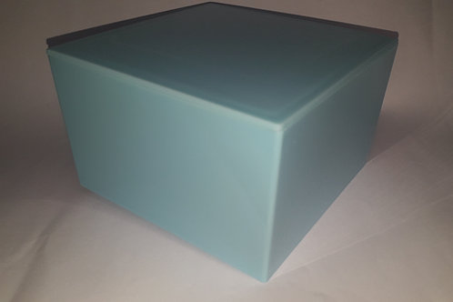 Caixa Acrílico Azul