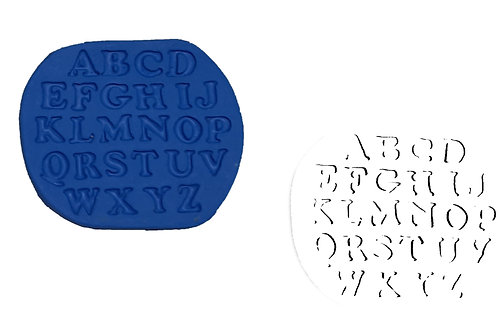 Ref. 029 - Alfabeto – medidas: 9 x 10 cm