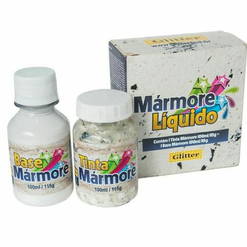 KIT MARMORE BRANCO CARRARA