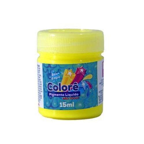 Colorê Gliart Amarelo NEON