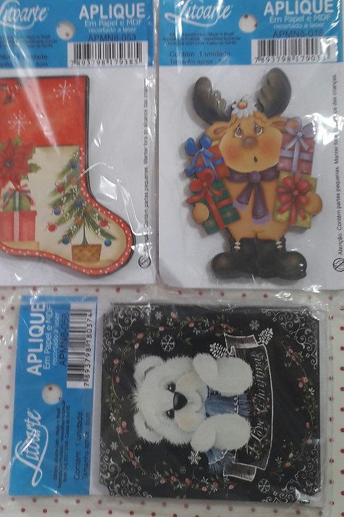 Trio Aplique Natal 11