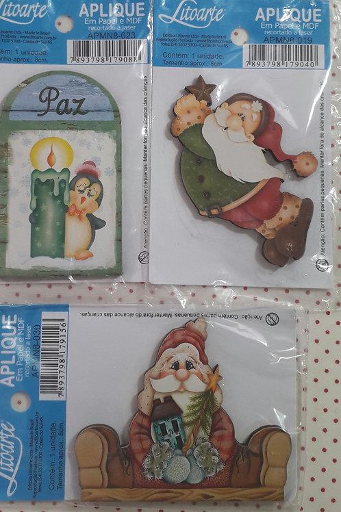 Trio Aplique Natal 10