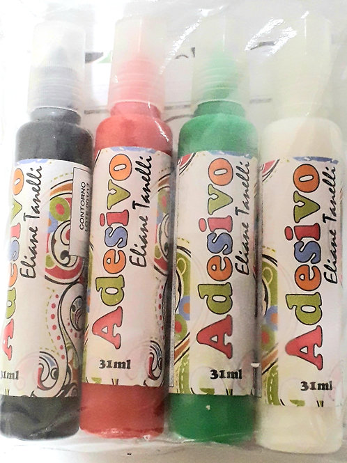Kit 03 Adesivo Colorido