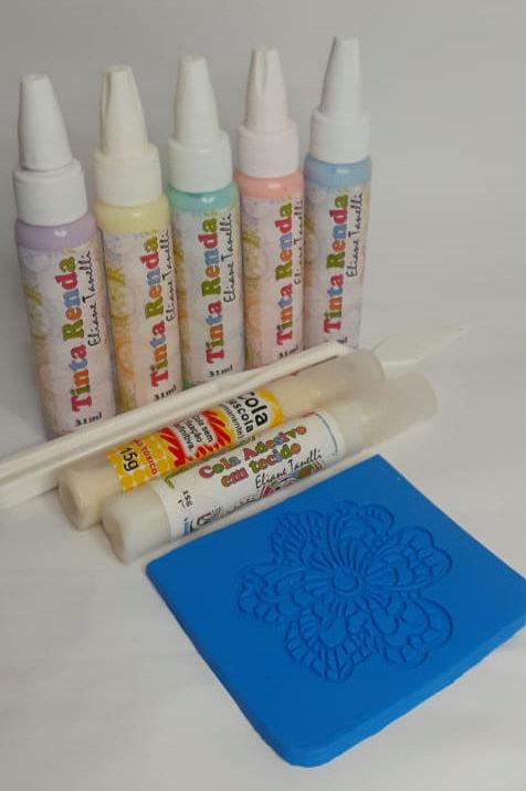 Kit RENDAS Candy Colors