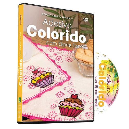 Dvd do Adesivo Colorido