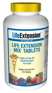 Life Extension Mix Tablets - 240 Tabs