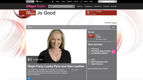 BBC London interview