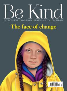 Loskey in Be Kind magazine