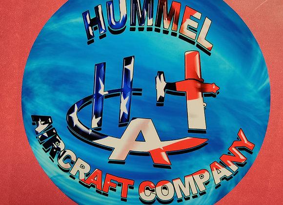 Hummel Aircraft Company Decal 6''