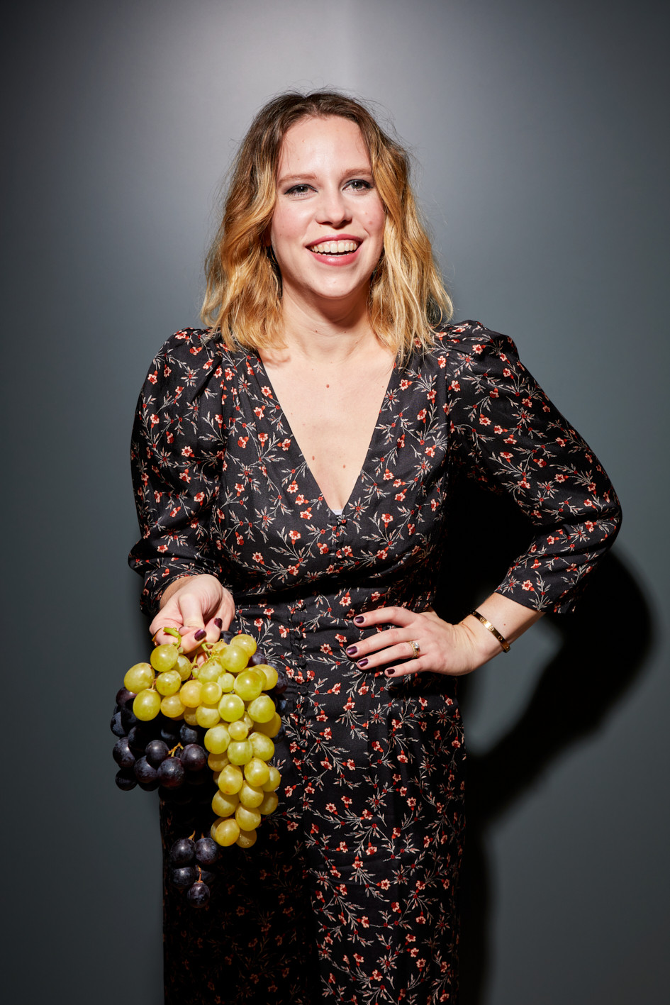 Ally Chapman, fierce feminist, wine enthusiast, and founder of The Femme Vine. hoto by: Patricia Niven    Food Styling: Loïc Parisot