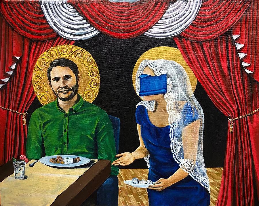 Machismo #1 by Irisol Gonzalez (2020) is the first piece in her Machismo series.