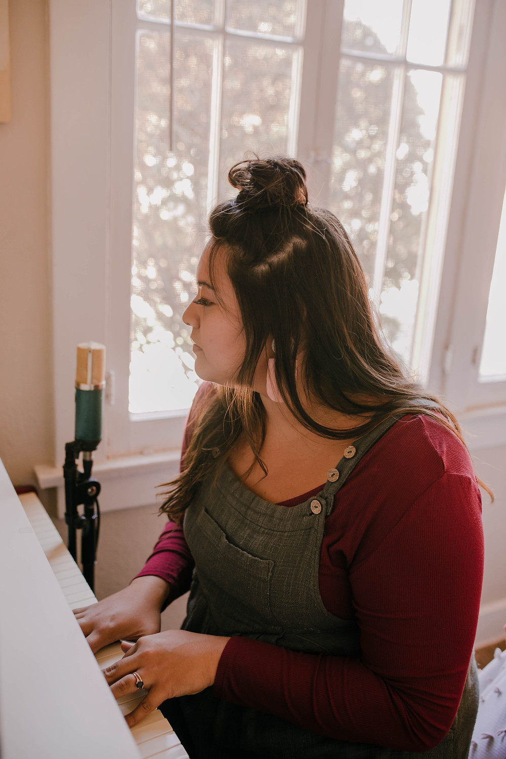 Debrianna is also a singer-songwriter and muscians who releases her melodies through Olive Home.