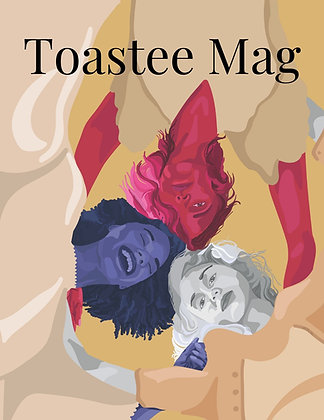 Herstory 2021 Issue Toastee Mag Cover Art Poster