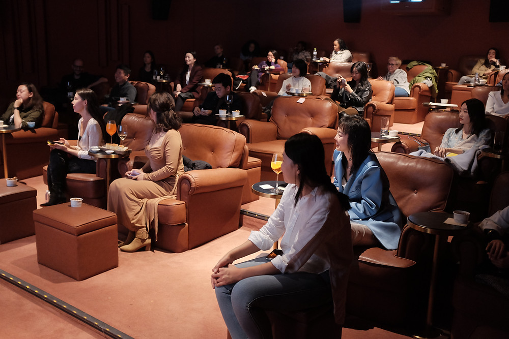 Women in Media China Film series hosted by Nova Universal and Cinker Pictures in Beijing.