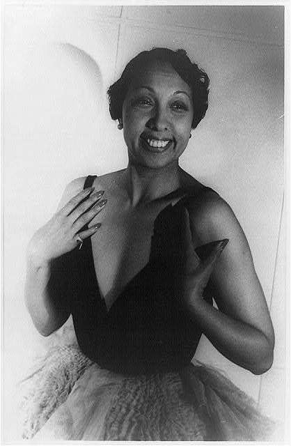 Josephine Baker. A singer, dancer, spy, activist, and mother. Contributed far more than the banana skirt. The history chick recommends josephine baker.