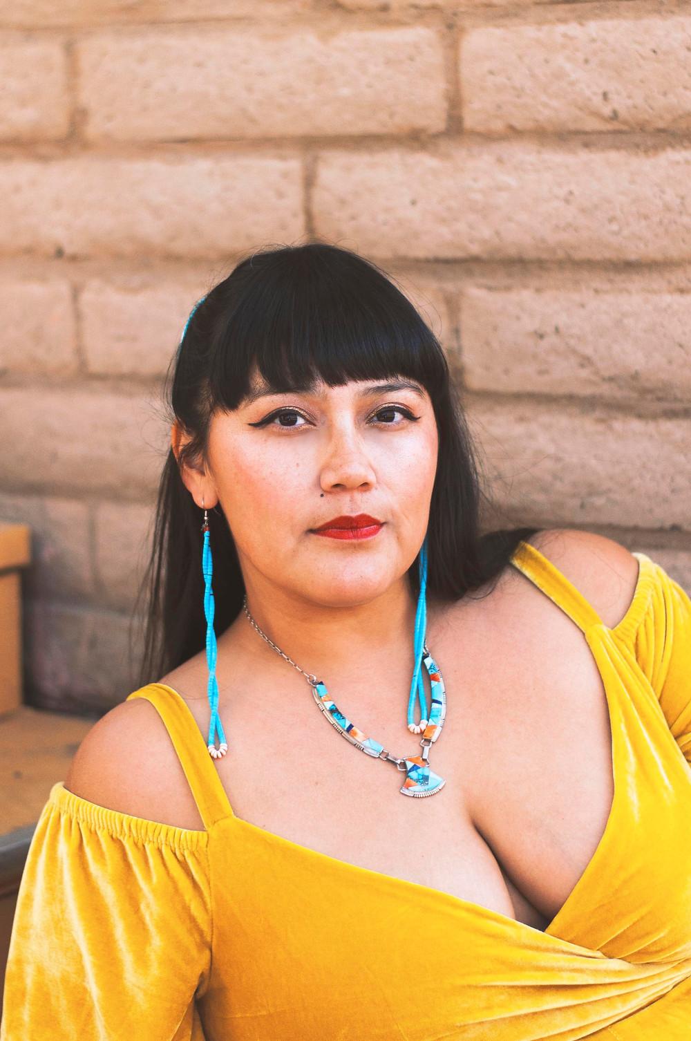 Jaclyn Roessel of Grownup Navajo and Native Women Leadphotgraphed by Hannah Manuelito.