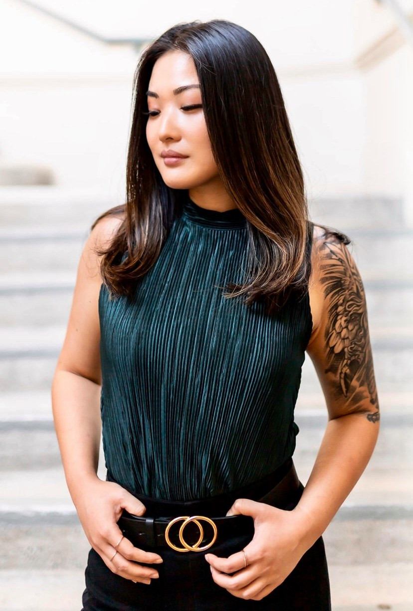 Jessica Chair of Human Services Comission of the City of Pasadena, entrepreneur, activist, community leader, Asian American leader, and Black Lives Matter advocate.
