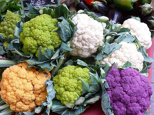 Mulit-Colored Cauliflower Mix