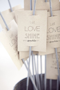 Let love shine and sparkle on