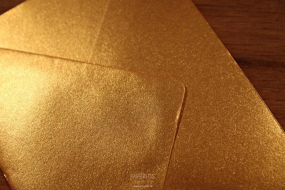 Goud metallic
