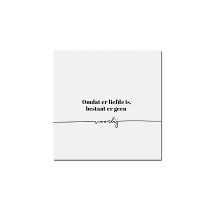 Rouwkaarten - set van 6