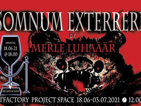 """Merle Luhaäär-Avril """"Somnum Exterreri"""""""
